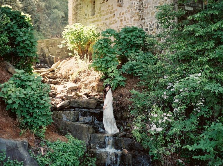 Denver Co Mountain Bridal session by Denver Colorado wedding photographer Amanda Berube Photography