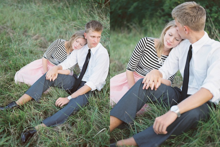 Denver Co Meadow Engagement session by Denver Colorado wedding photographer, Amanda Berube Photography