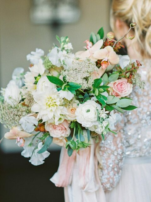 Bridal bouquet by Denver Colorado photographer, Amanda Berube Photography.